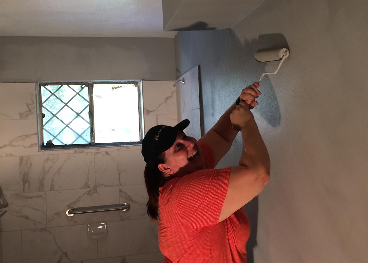 Houston Hurricane Harvey House Painting