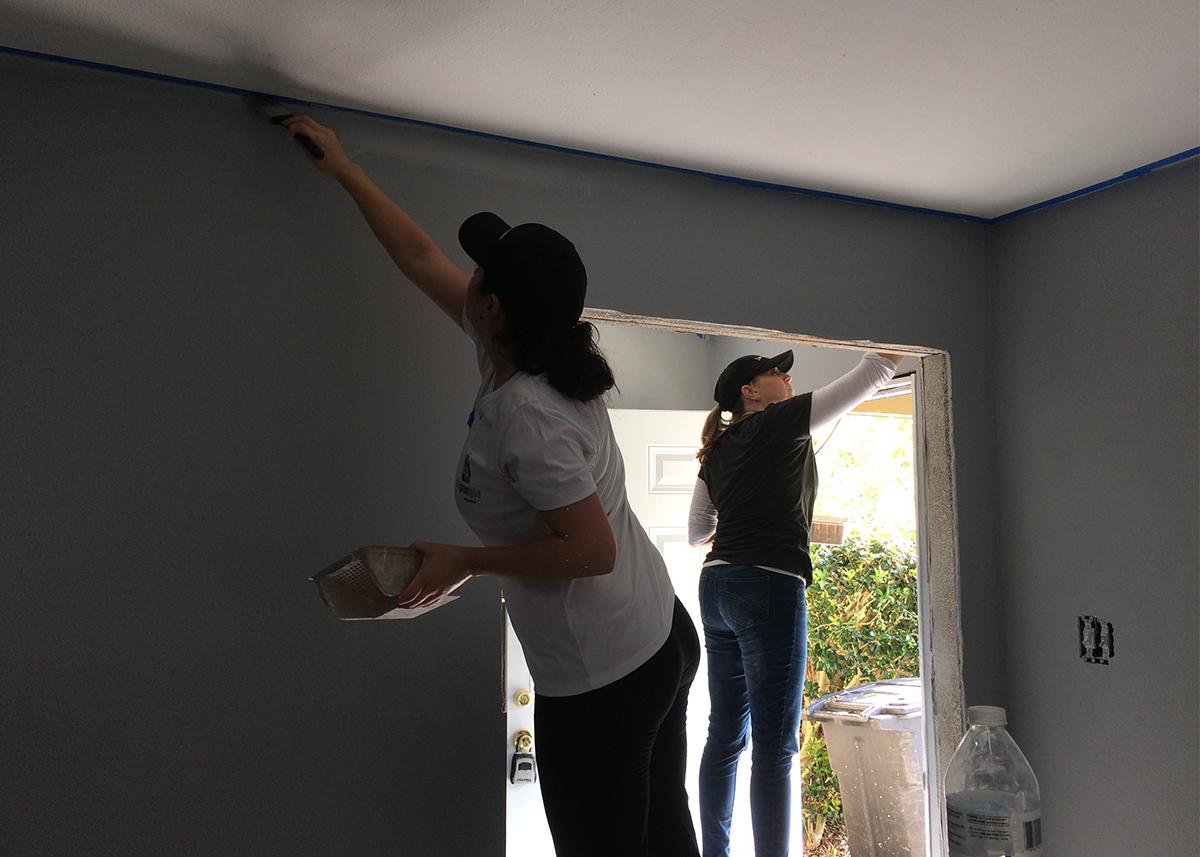 Houston Hurricane Harvey House Volunteers