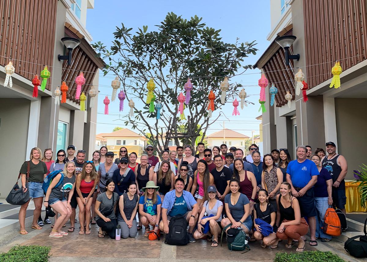 Thailand Group Photo