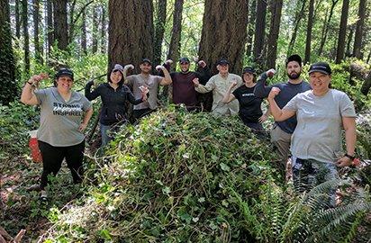 Camassia Natural Area Volunteers